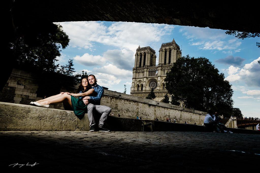 Engagement Shooting Paris Notre-Dame