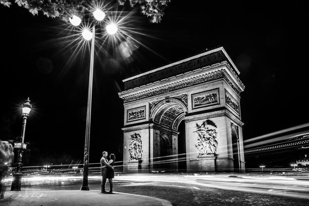 Engagementshooting Paris