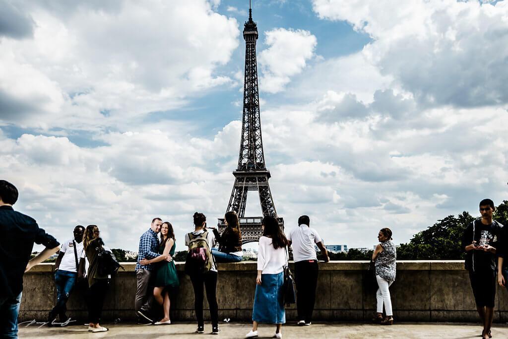 Engagement Shooting Paris Eiffelturm