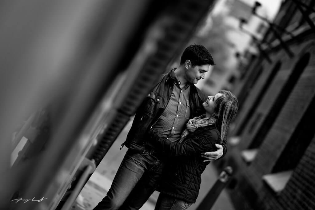 Fotoshooting zur Verlobung Hamburg
