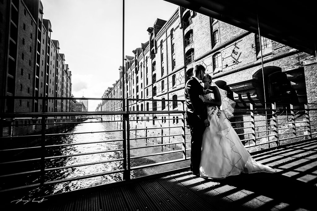 Hochzeitsfotografie Hamburg im Michel