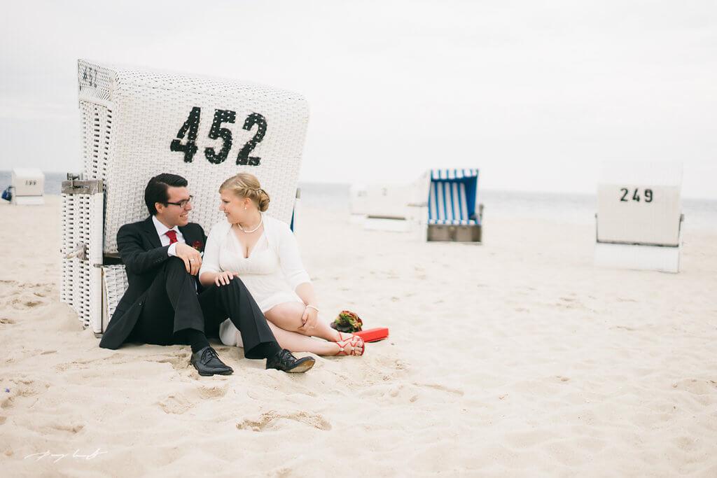 Sylt Hochzeitsfotografie Leuchtturm Hörnum