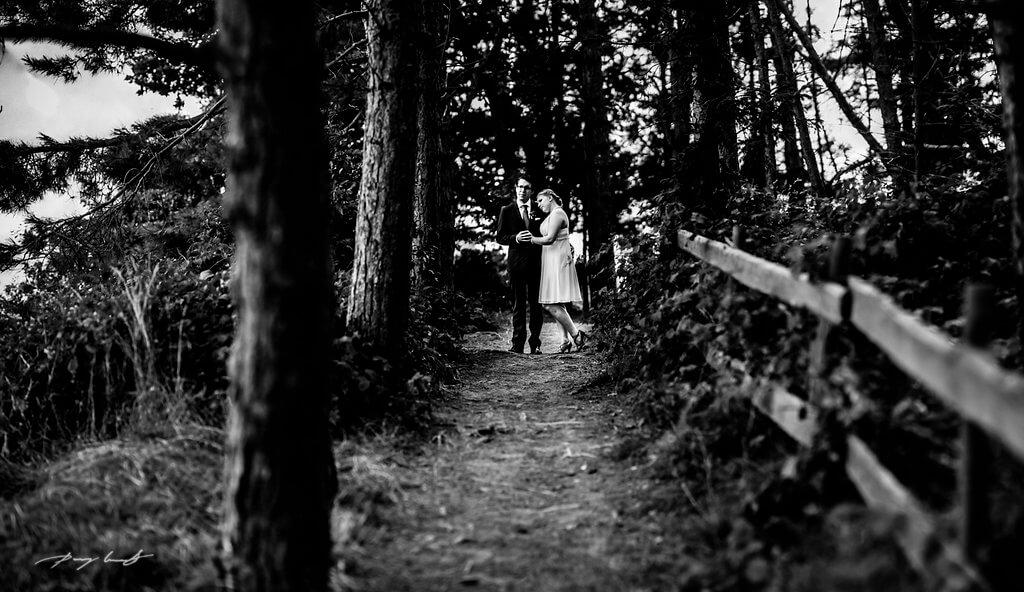 Hochzeitsfotografie im Leuchtturm Sylt