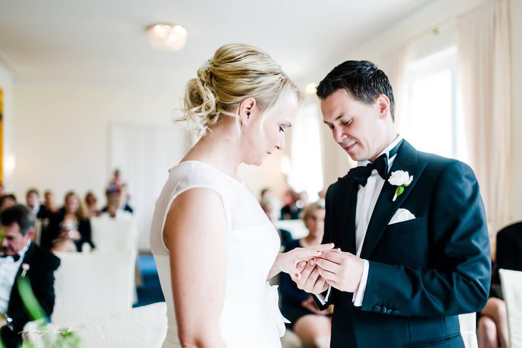 Hochzeit im Louis C. Jacob Hamburg