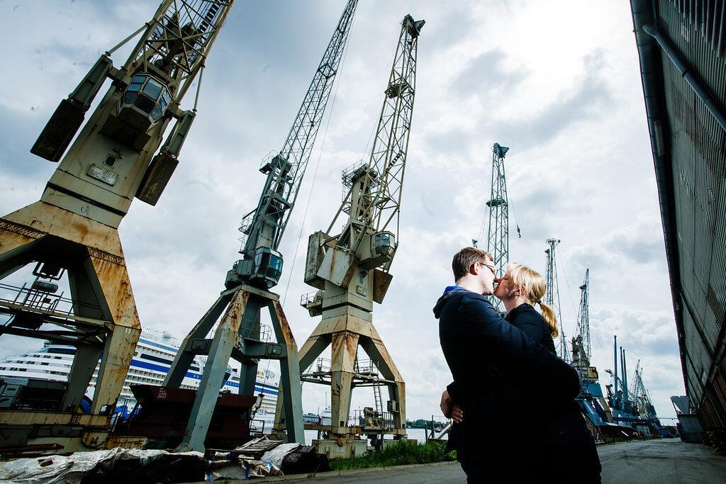 Hamburg Hafen Paarshooting