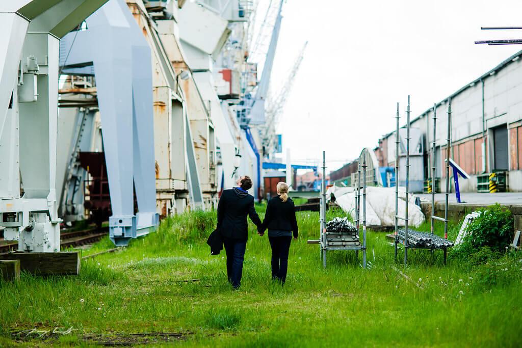 Paarshooting Hamburg Hafen