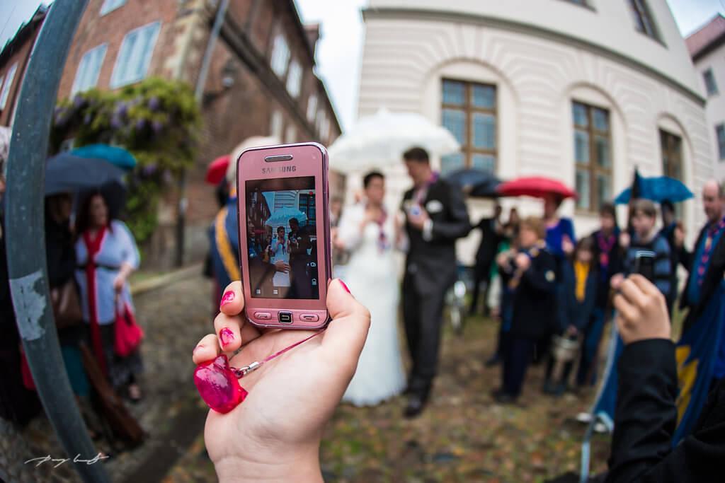 Hochzeit im Regen Lüneburg