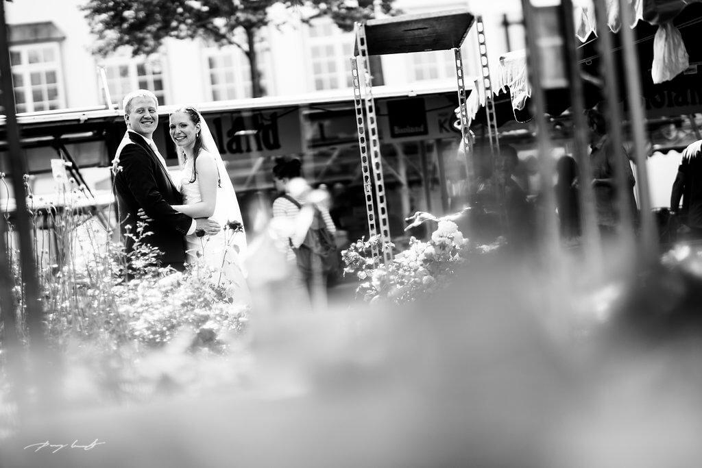 Hochzeitsfotografie im Markt