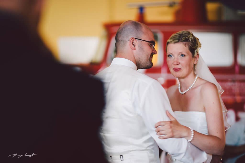 Hochzeitsfotografie bei der Feier