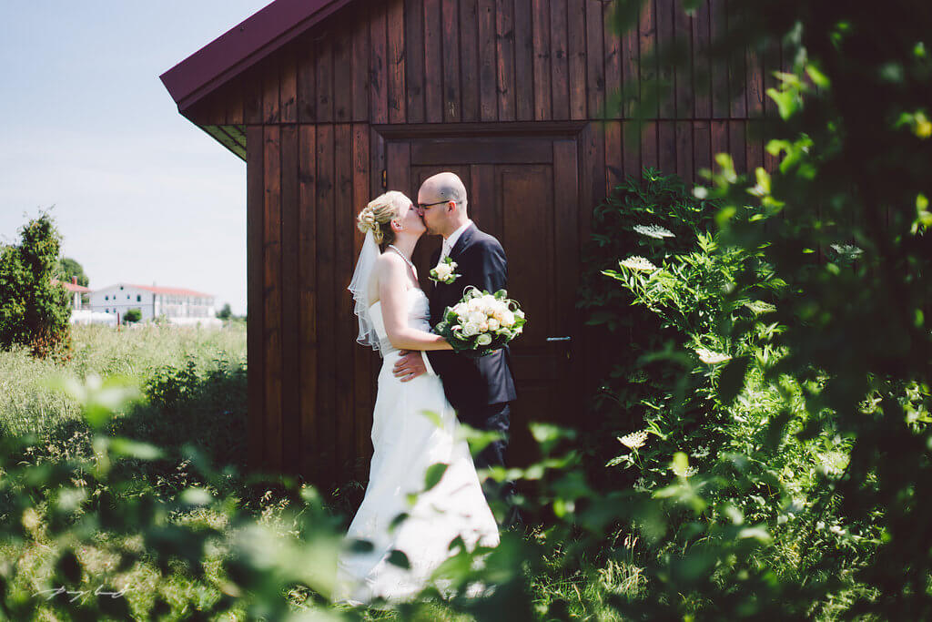 Hochzeitfoto im Hotel Strelasund