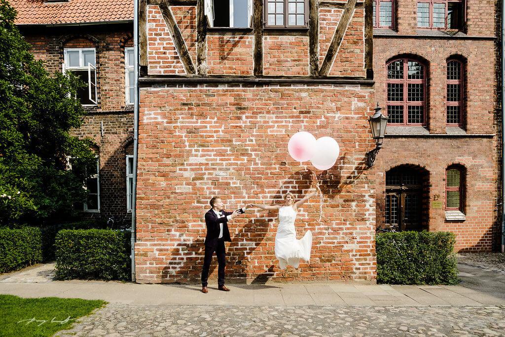 Hochzeit Mit Luftballons Hochzeitsfotograf Hamburg Luneburg Bremen