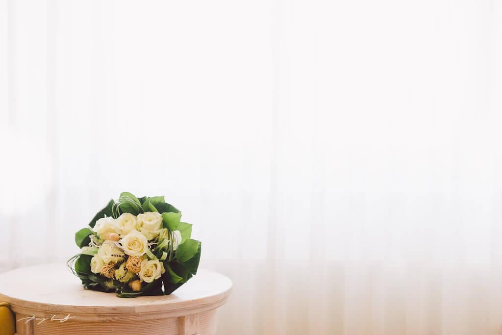 Vorbereitung Hochzeit Strelasund