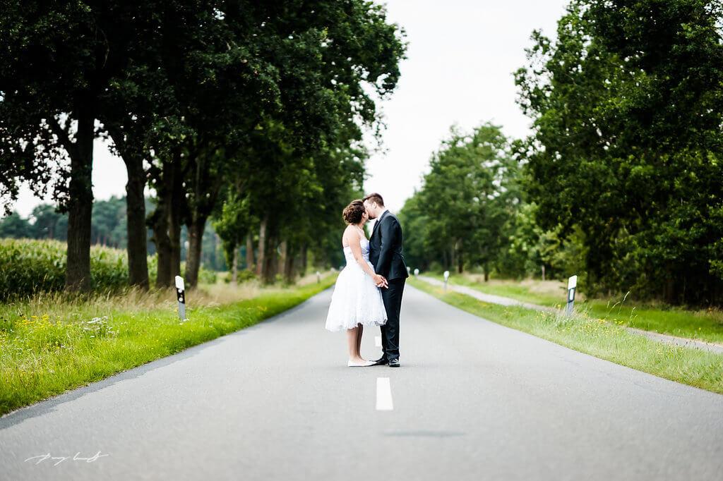 Heirat in Wassermühle