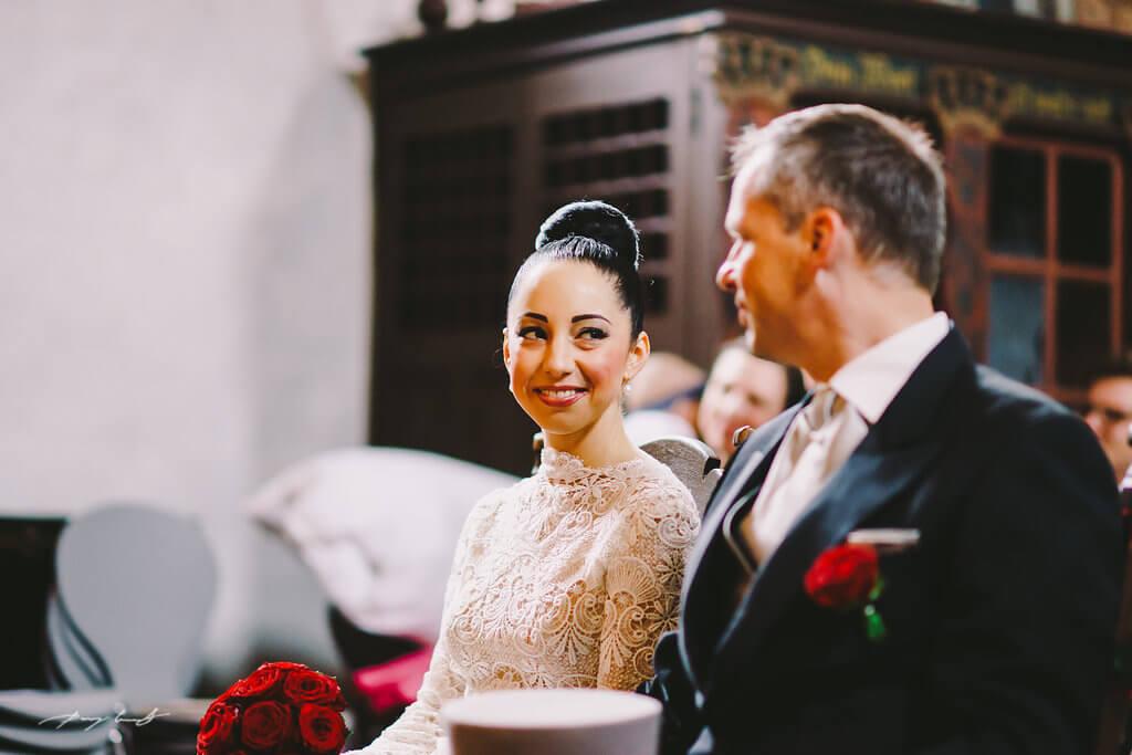 Hochzeit in Kirche Keitum