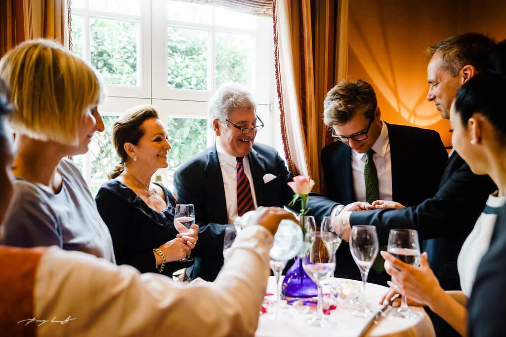 Hochzeitsfeier auf Sylt
