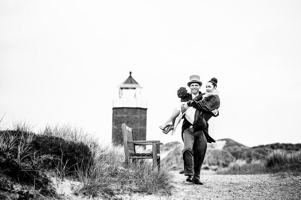Heiraten am Leuchtturm Sylt