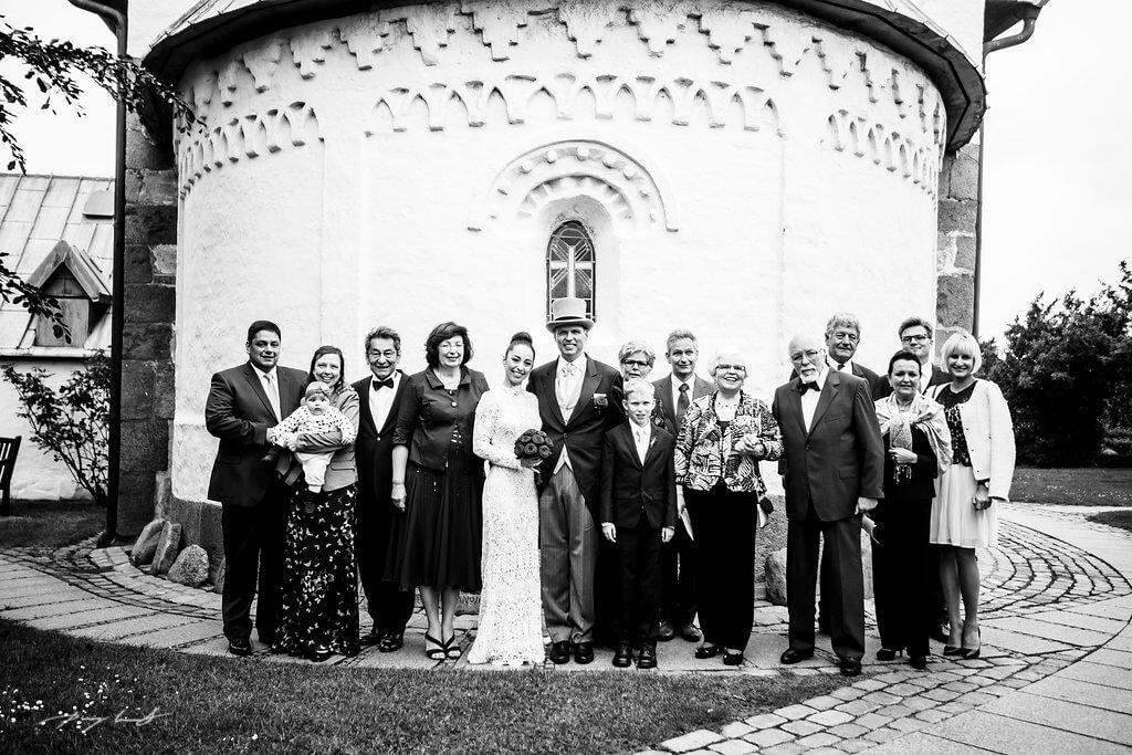 Hochzeitsfotograf auf Sylt Kirche Keitum