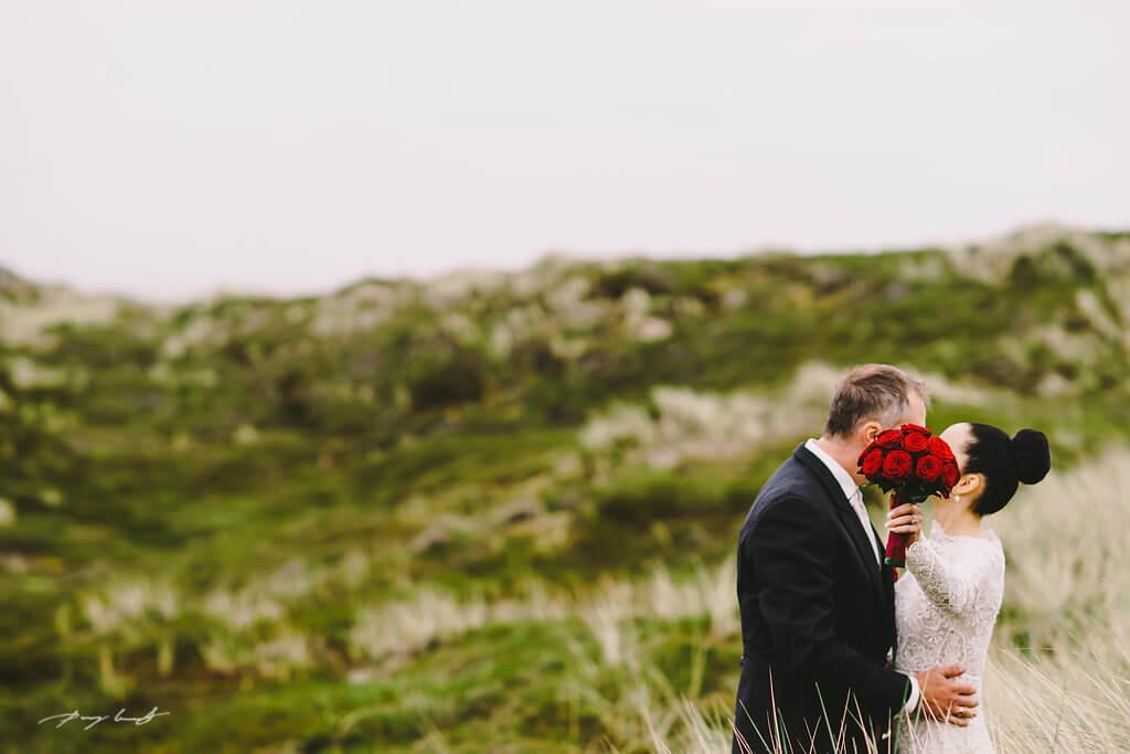 Hochzeitsfotos auf Sylt
