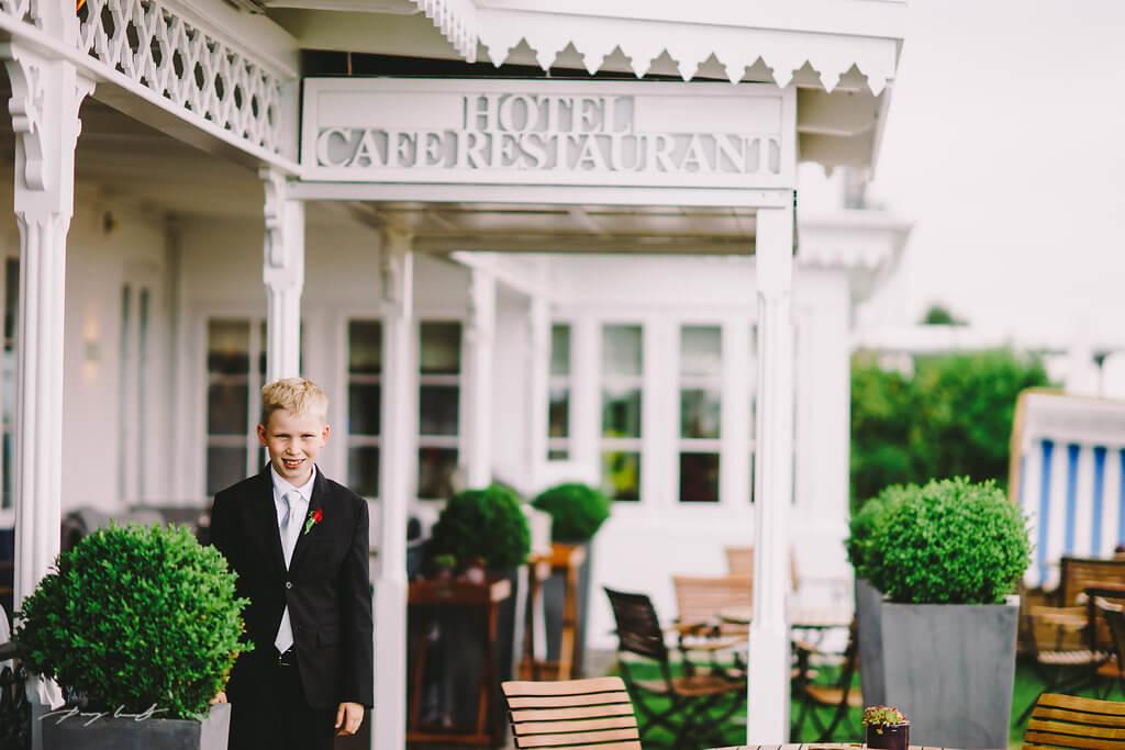 Hochzeitsfotografie in Hotel Fährhaus
