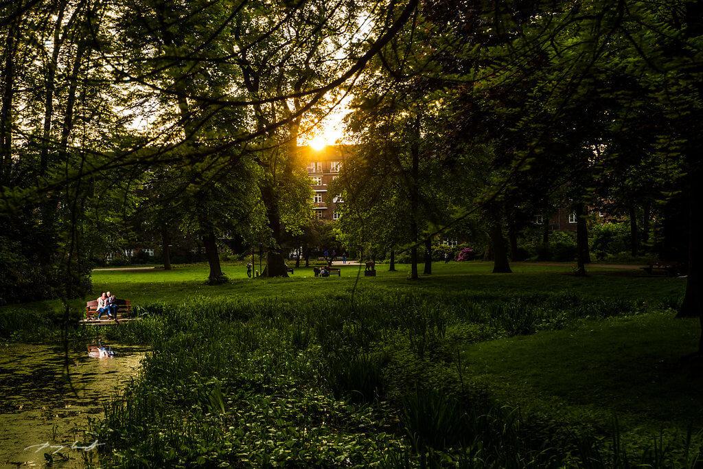 Harburg Fotoshooting im Park