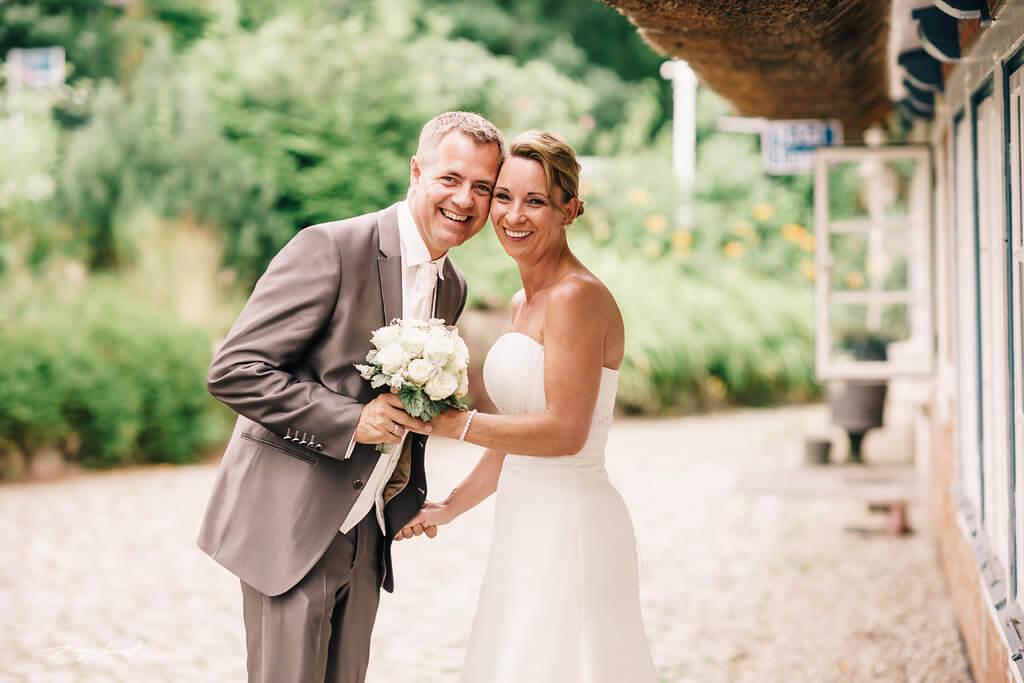 Hochzeitsshooting in der Naturhotel Alter Au Hamburg