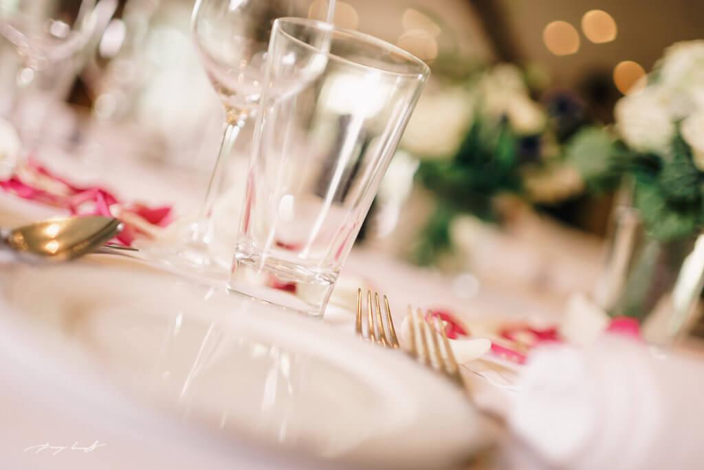 Hochzeitsgedeck fotografie Hochzeitsfeier nach der Trauung