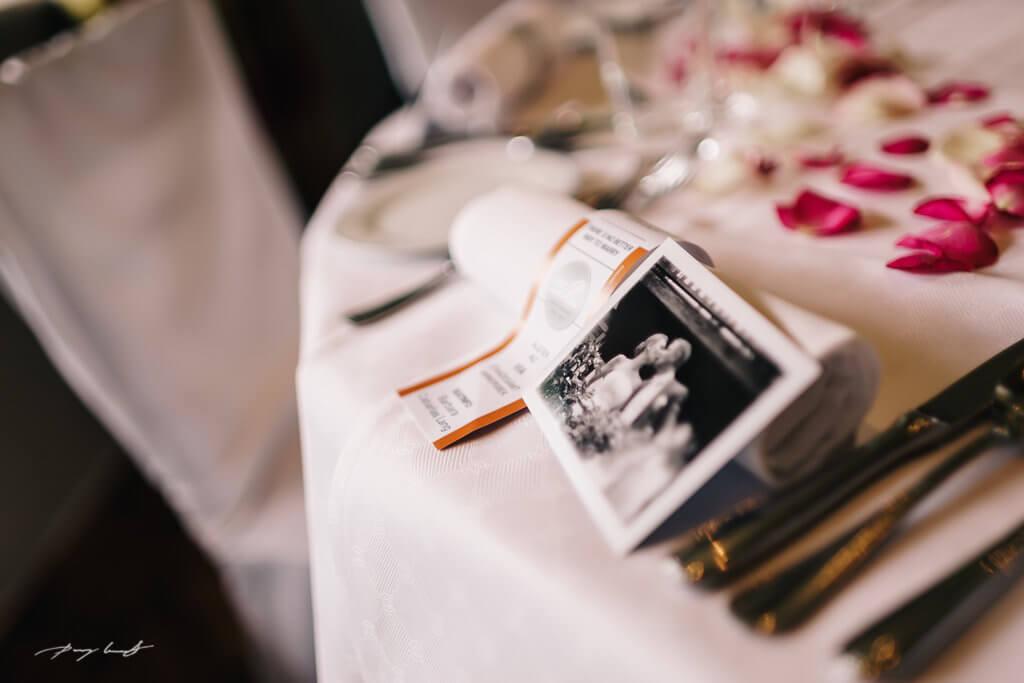 tischdeko im Alster au Hochzeitsfeier fotografie hochzeitslocation