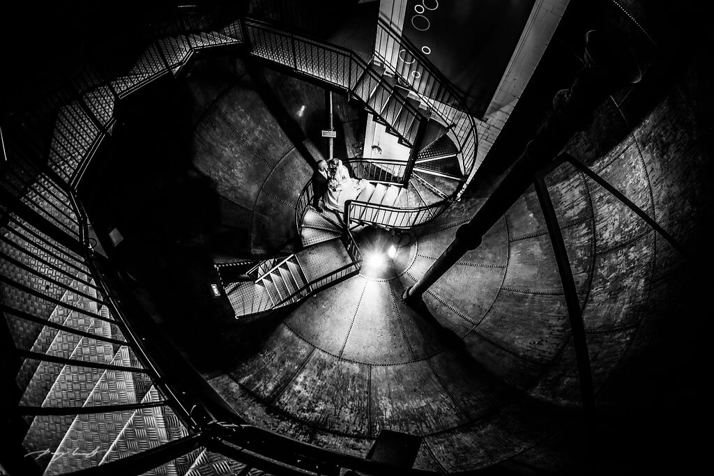 wasserturm stufen ins glück lüneburg fotografie hochzeit
