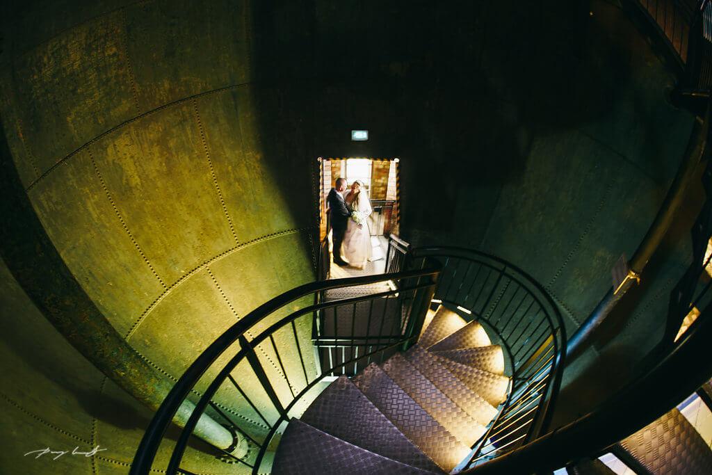schönster tag im leben fotografie wasserturm hochzeit lüneburg