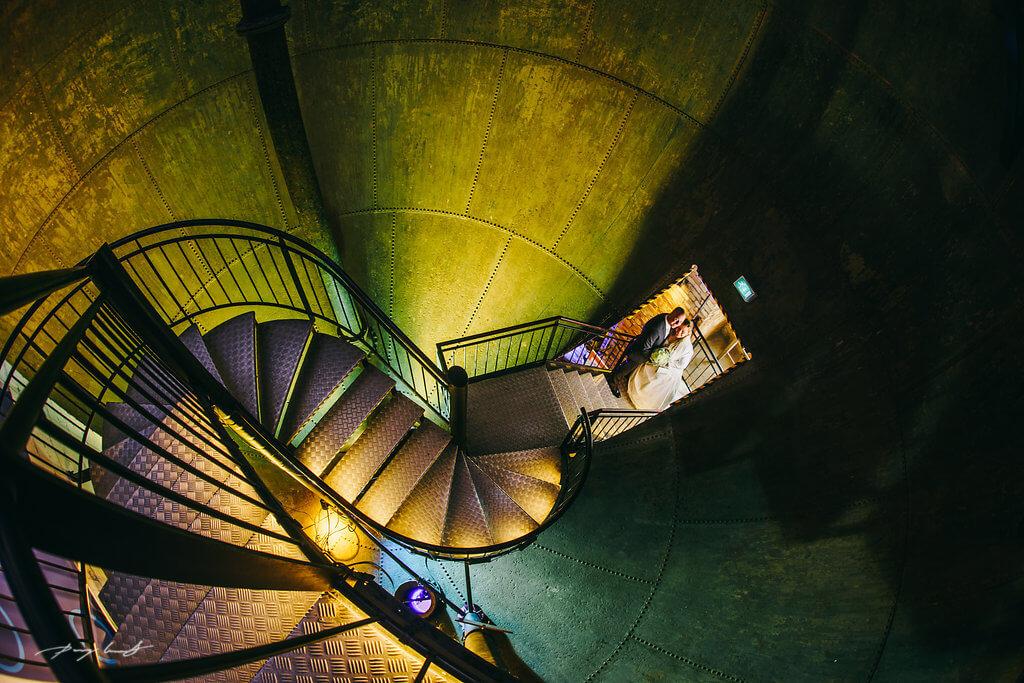hochzeitsfotografie im lüneburger wasserturm