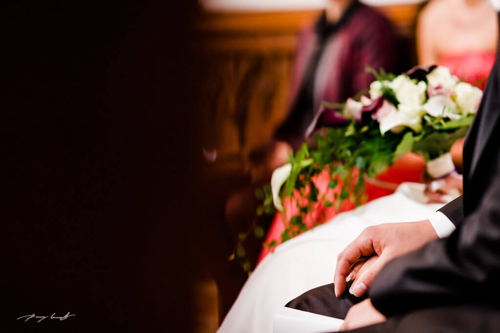 Brautstrauß Braut Bräutigam Dom zu Bardowick Fotograf