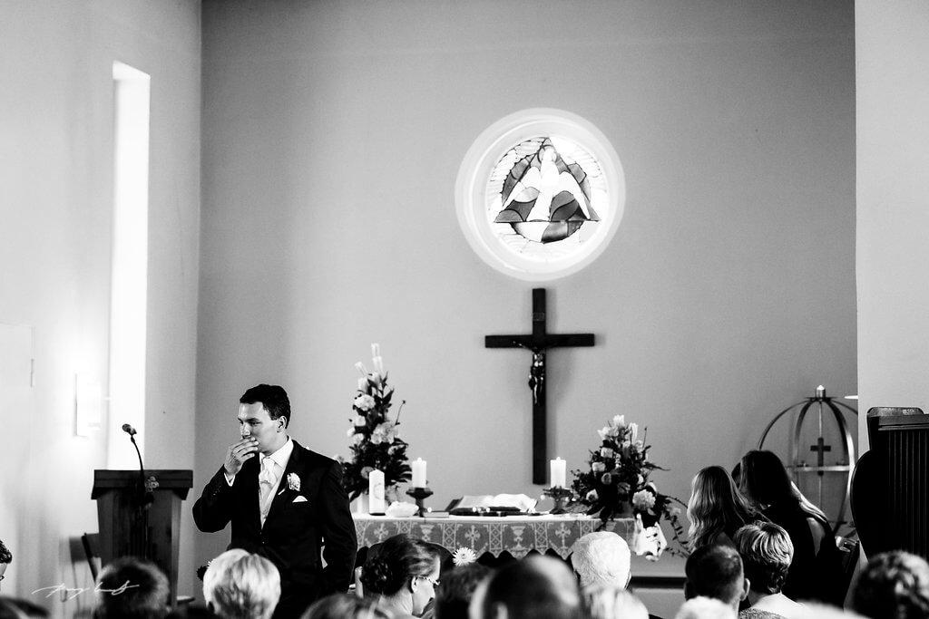 Jawort Bräutigam Hochzeitsfotograf Braut In Fliegenberg Kirche