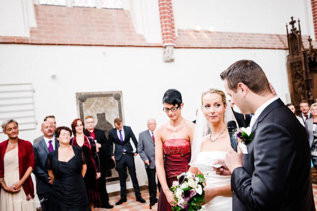 Bräutigam Braut Fotografie Bardowick St Peter und Paul