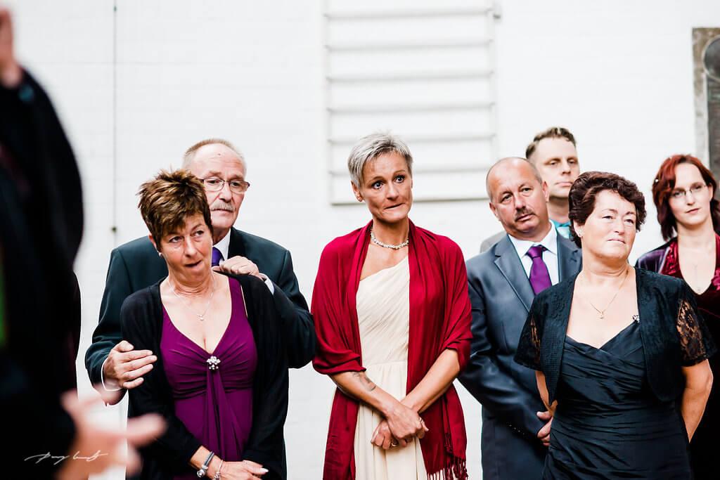 Gäste Hochzeit Dom zu Bardowick Fotografie
