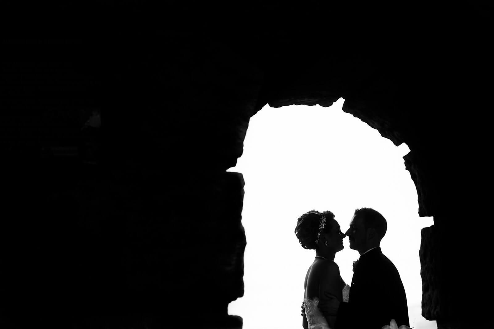 Er und Sie Hochzeitsfotografie Hamburg Brücke Elbe