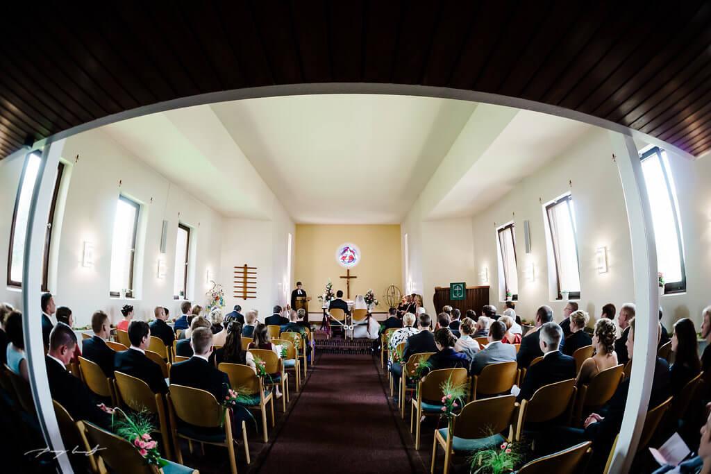 Trauung Jawort Hochzeit Fliegenberg Kirche Fotograf