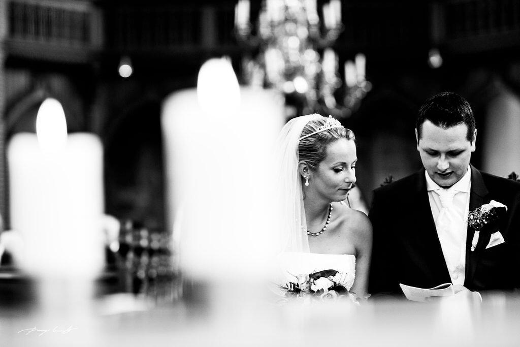 Trauung Brautpaar Hochzeitsfotograf Bardowick