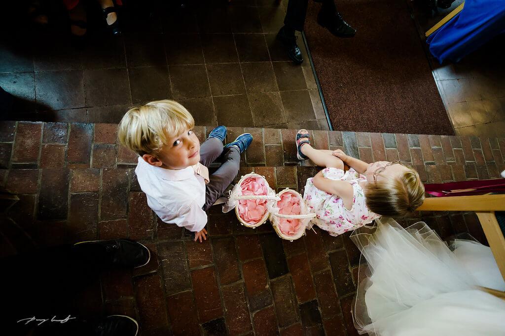 Blumenkinder Hochzeit Hochzeitsfotograf Trauung