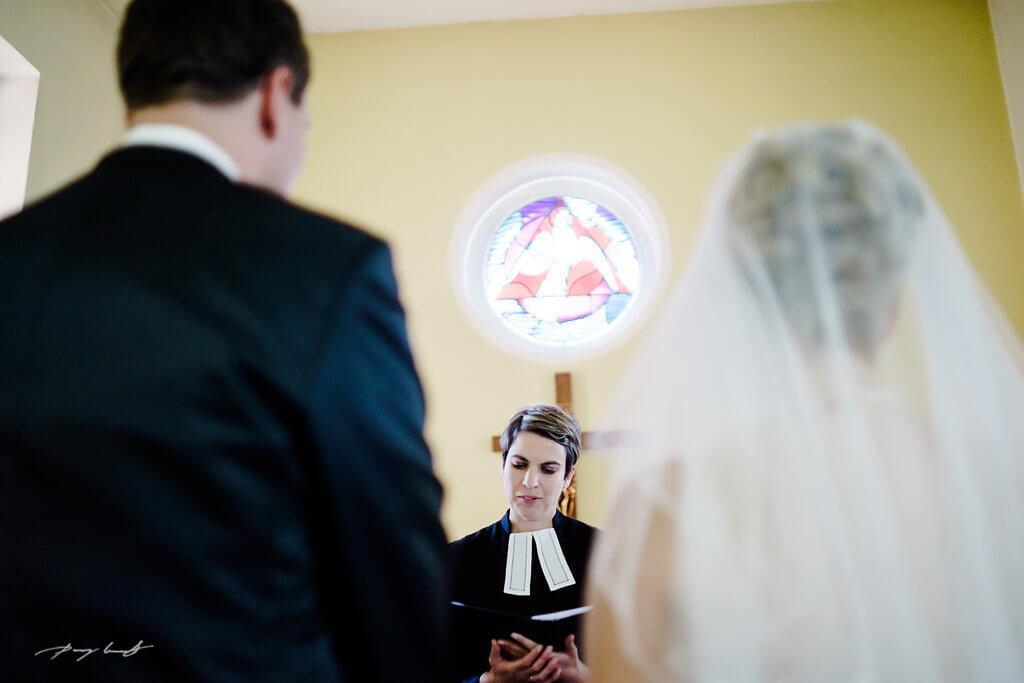 Jawort Ringe Kirche in Fliegenberg Hochzeitsreportage
