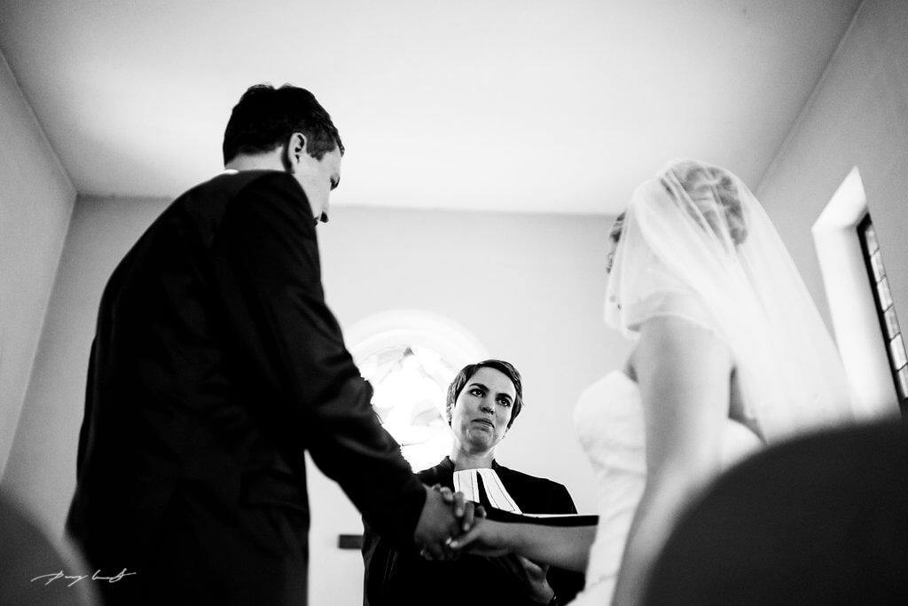 Hochzeitsfotografie in Fliegenberg Martin-Luther-Kirche Trauung