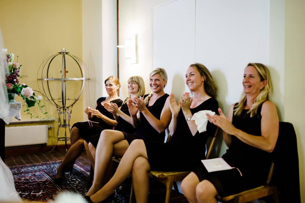Hochzeit Gäste Trauung Fotografie Fotos