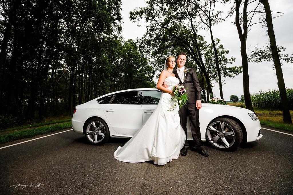 Auto Brautpar Fotografie Bardowick