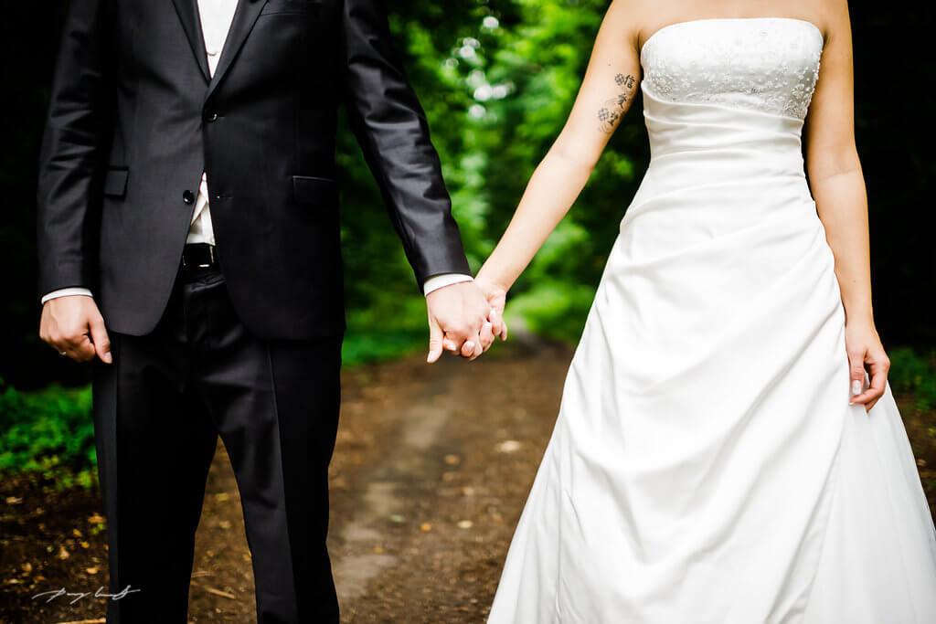 Bardowick Fotoshooting Braut Bräutigam
