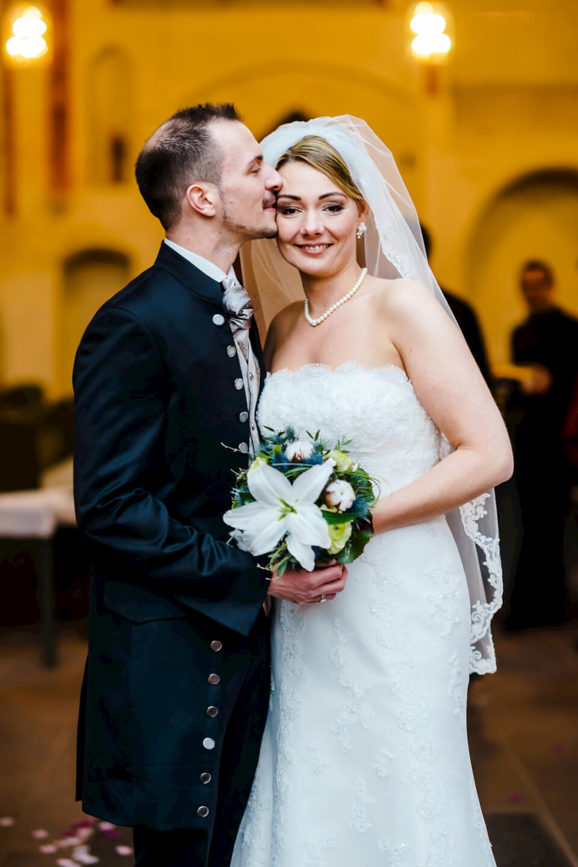 Jawort Braut und Bräutigam Kirchliche Trauung Winsen Fotografie