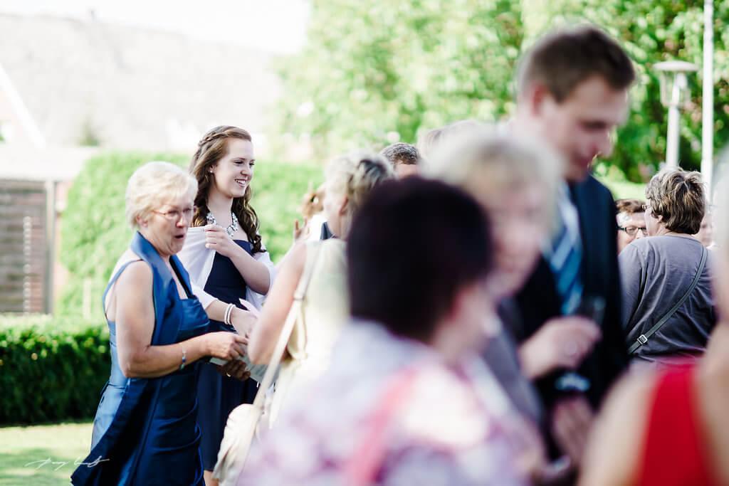 Hochzeit Gäste Sommer Jawort Kirche