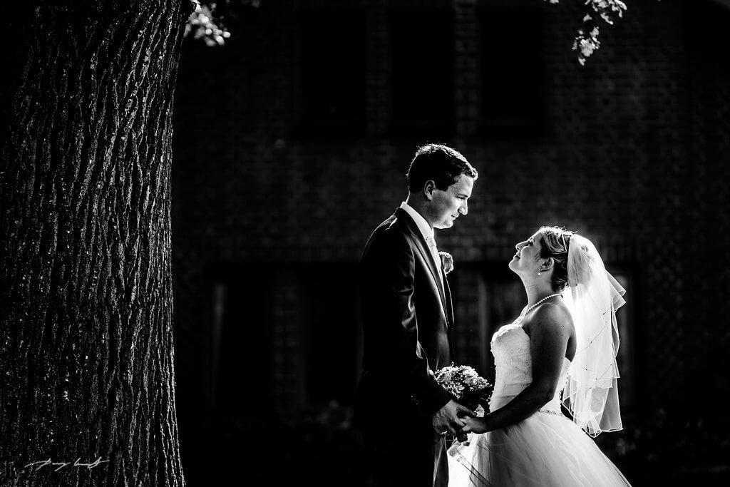 Brautpaar Hochzeit Jawort Kiche