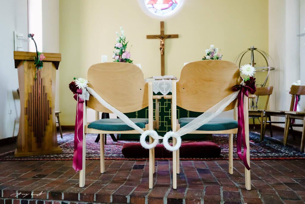 Martin-Luther-Kirche Fliegenberg Hochzeit Trauung Hochzeitsfotos
