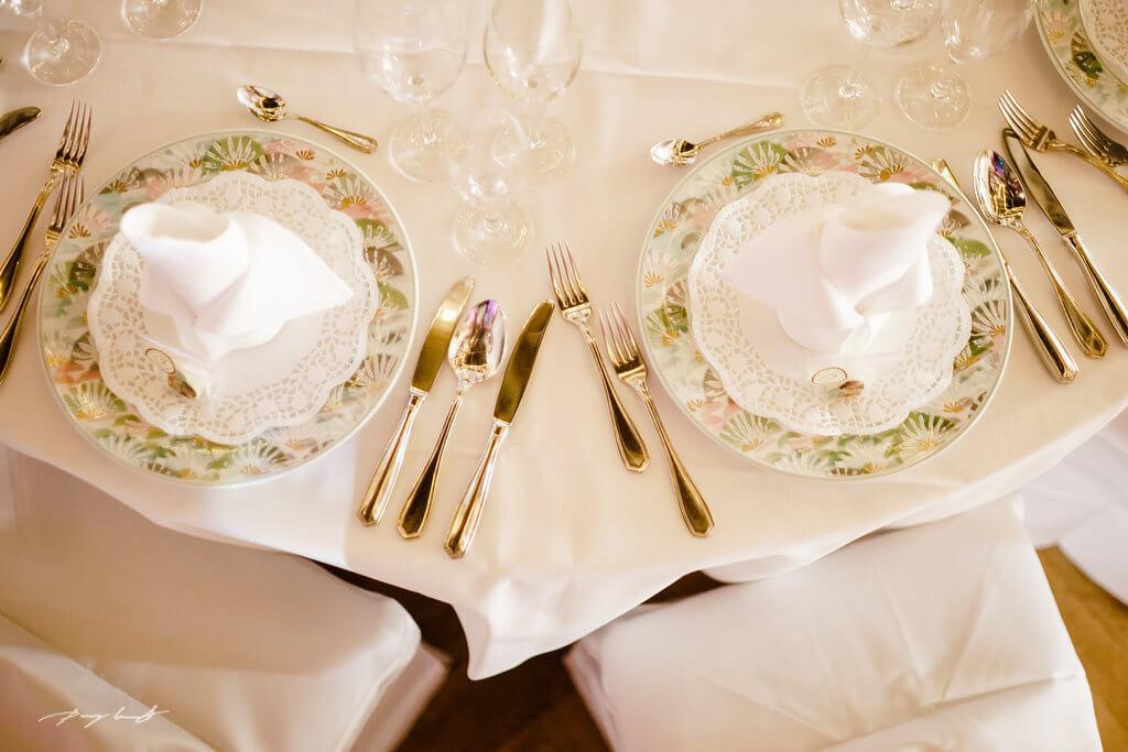 Hochzeitsessen Tischdeko Gasthof Große Fotos Wulfsen