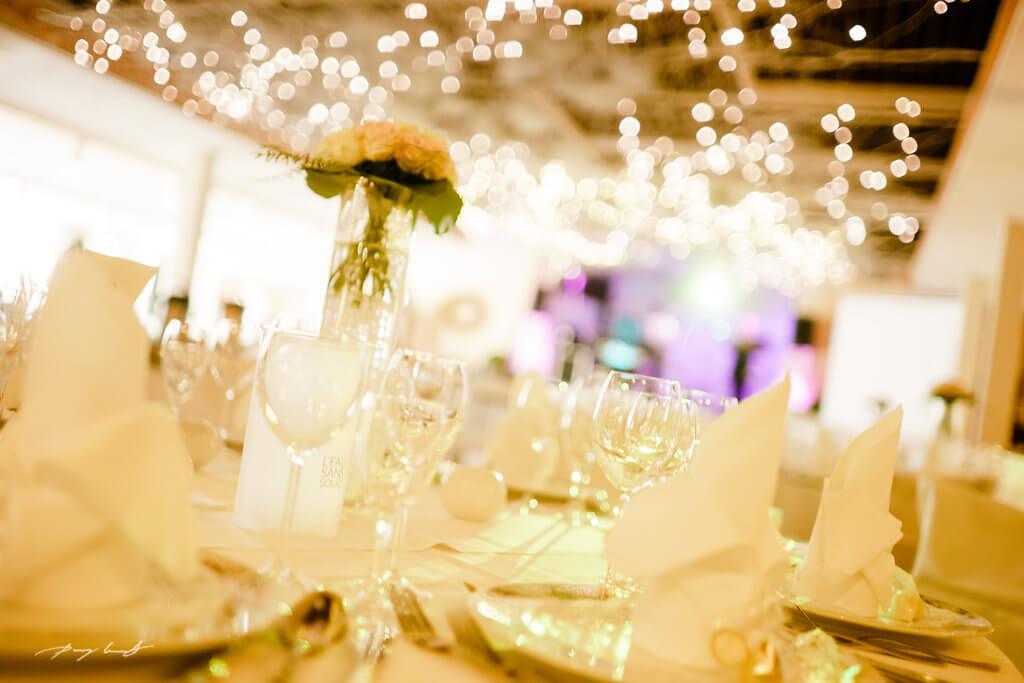 Hochzeitsfeier Gasthof in Wulfsen Tischdeko Fotos
