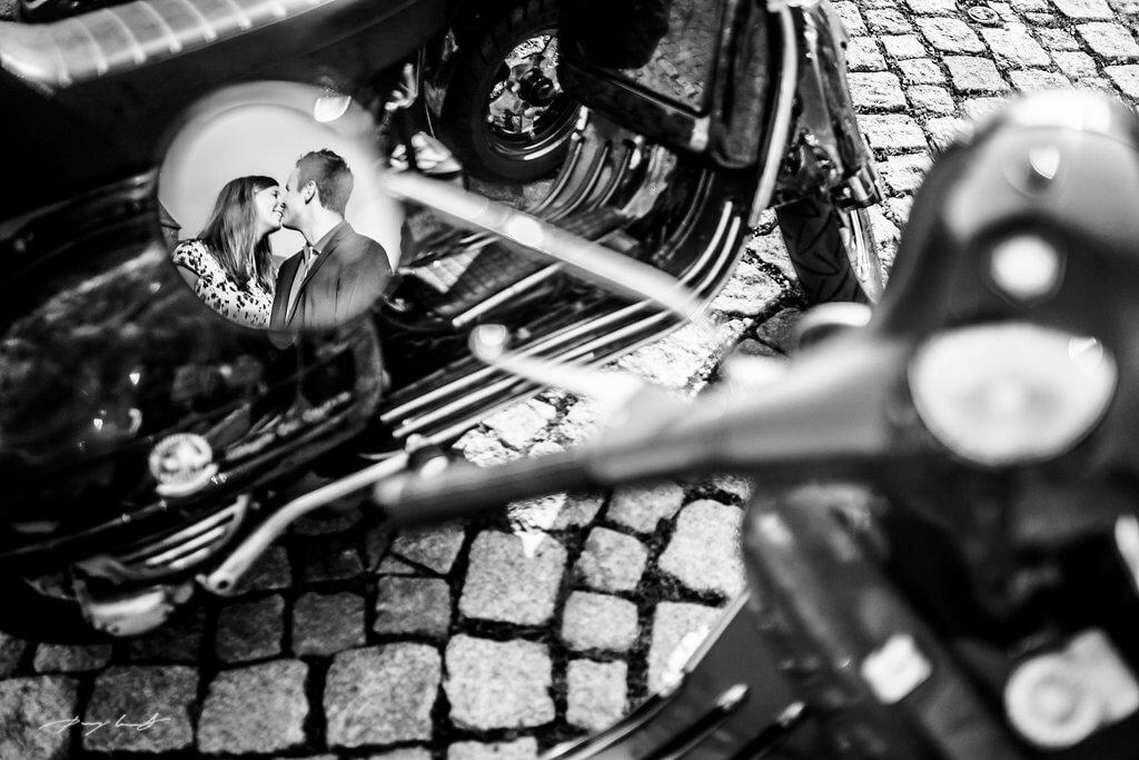 Spiegel Pärchen Paarshooting Fotograf Winsen Luhe